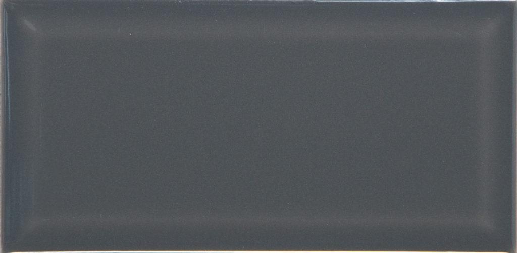 10x20 Biselado grafite glossy