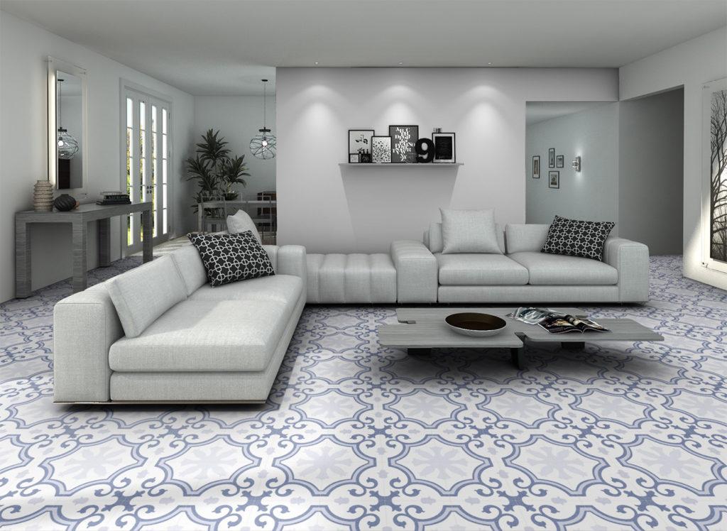 LACOUR ARTIC 25x25cm R9 Pattern Porcelain