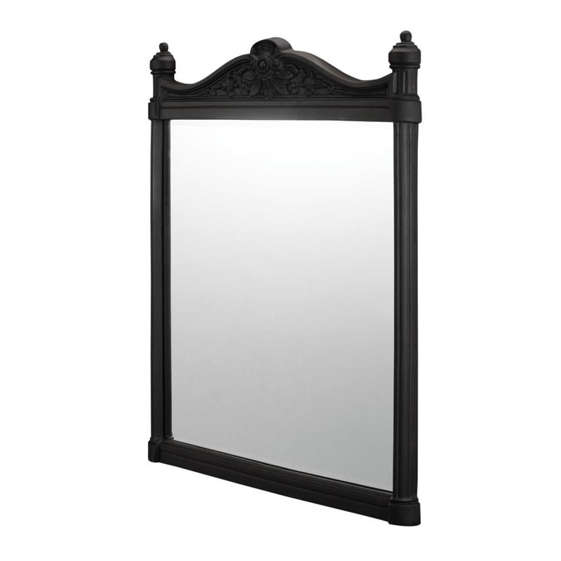 Georgian brushed black mirror.