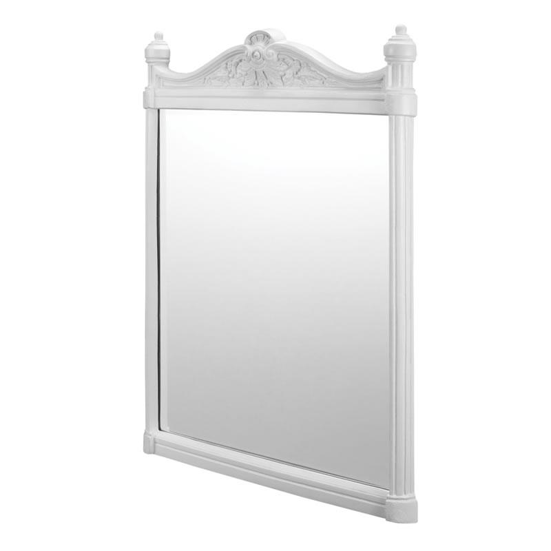 Georgian brushed white mirror.