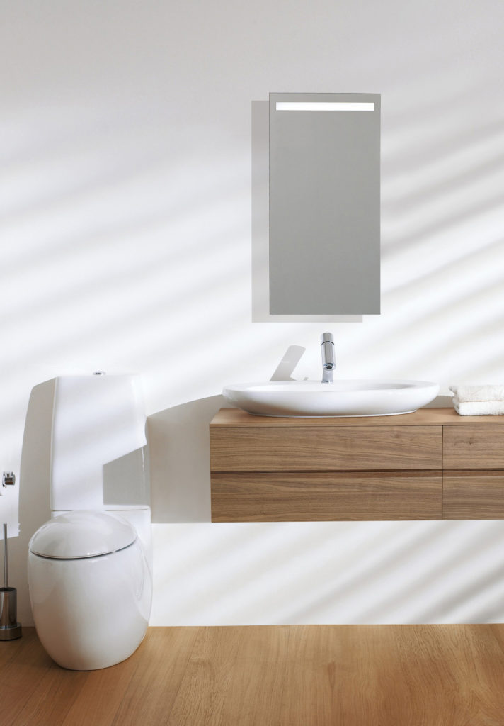 ILbagnoalessi one vanity with different sink option