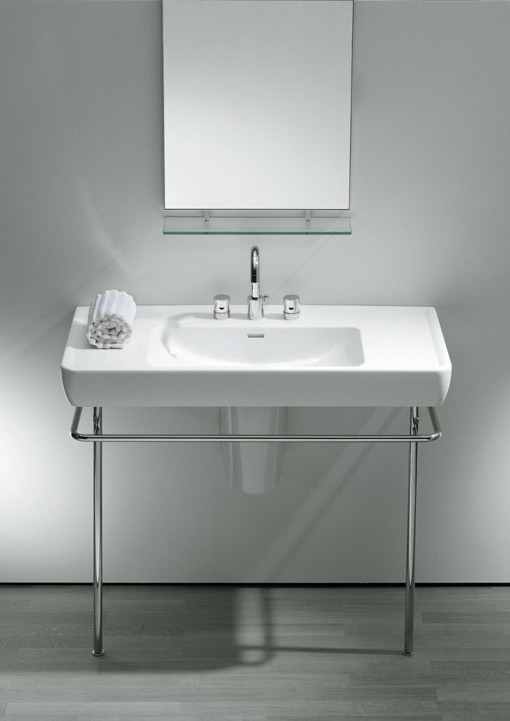 Laufen pro with towel rail