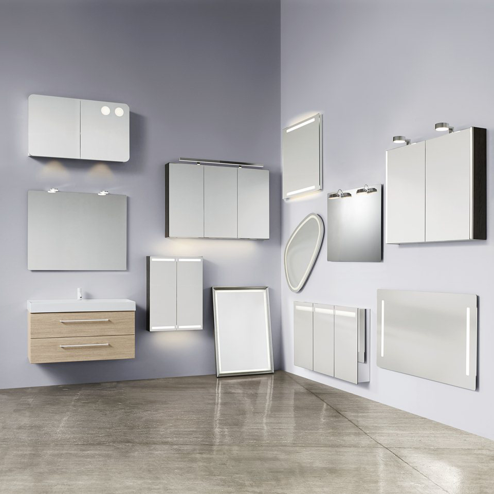 Selection of mirrors from Dansani