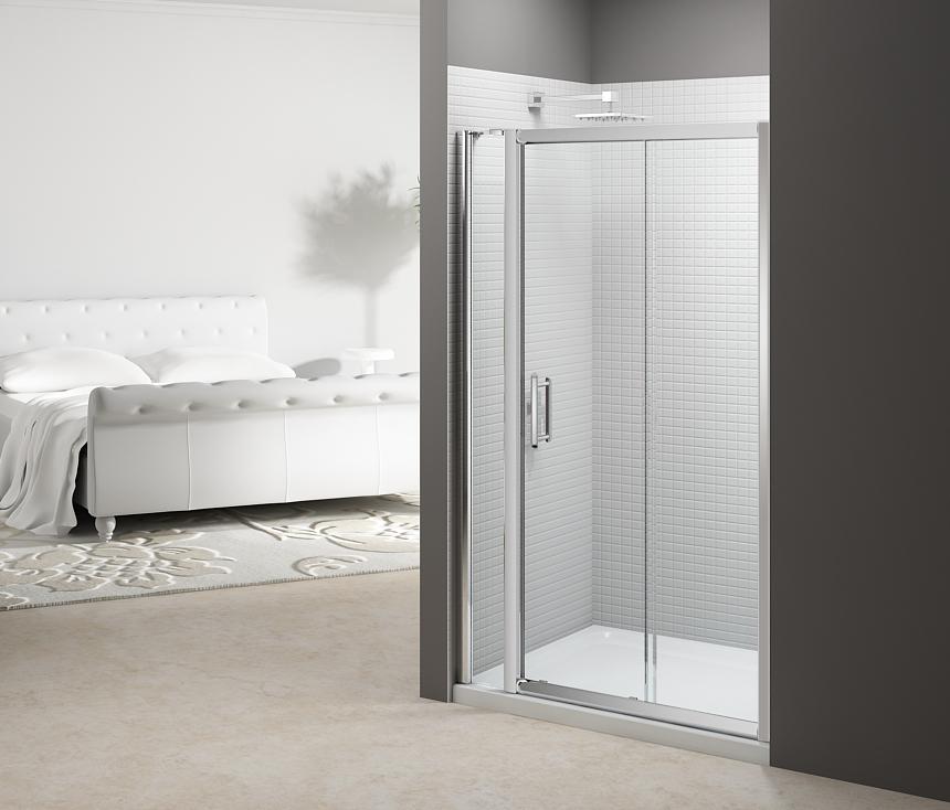 6 Series Sliding Door with Inline Panel LR