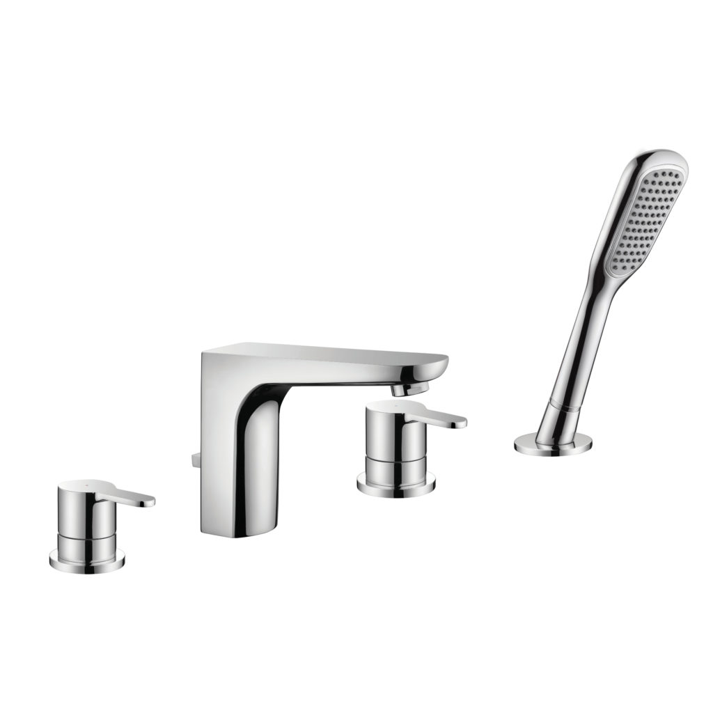 Drift 4 Hole Bath Shower Mixer D-4H.Aqualla