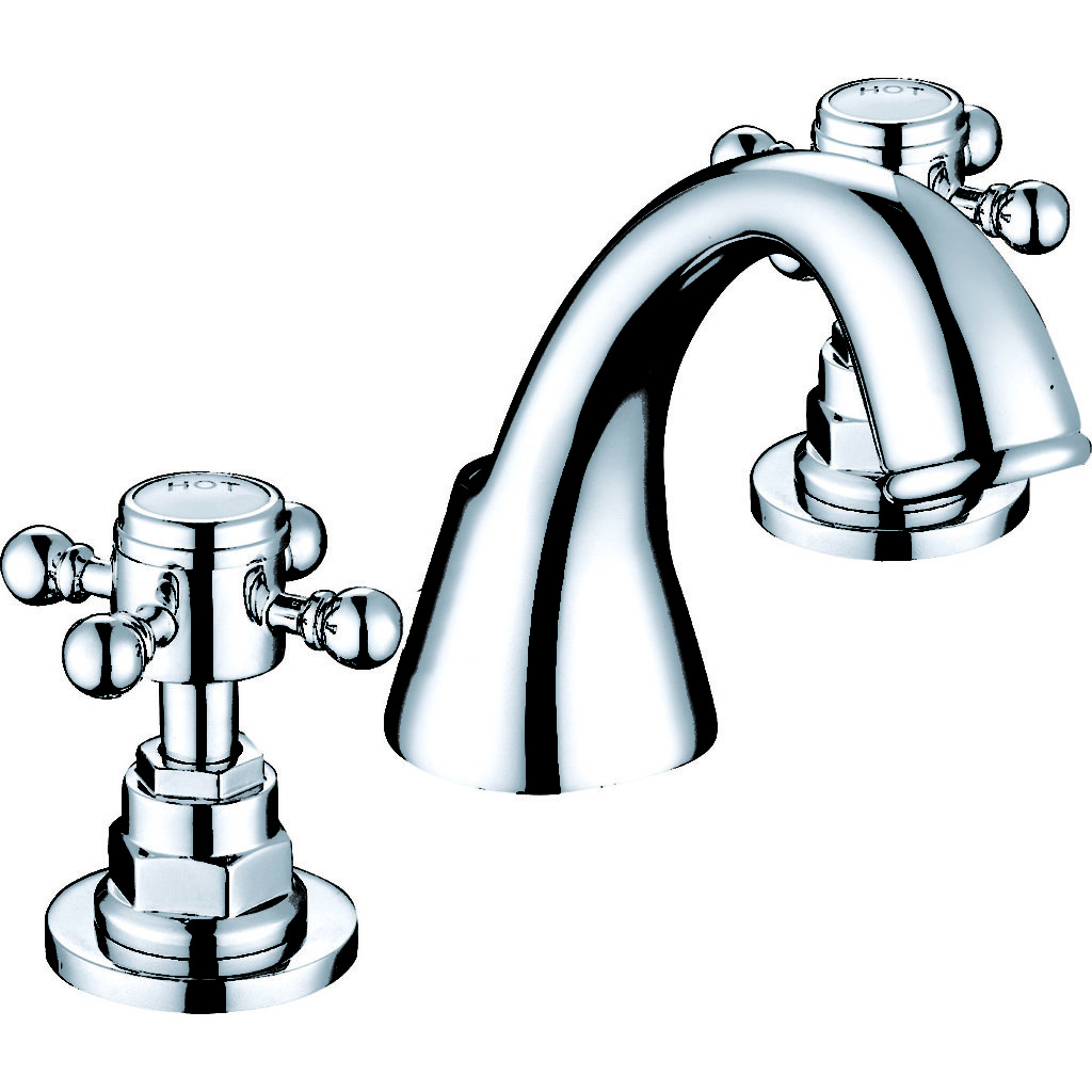 Georgia 3 hole basin mixer G-3HB.Aqualla