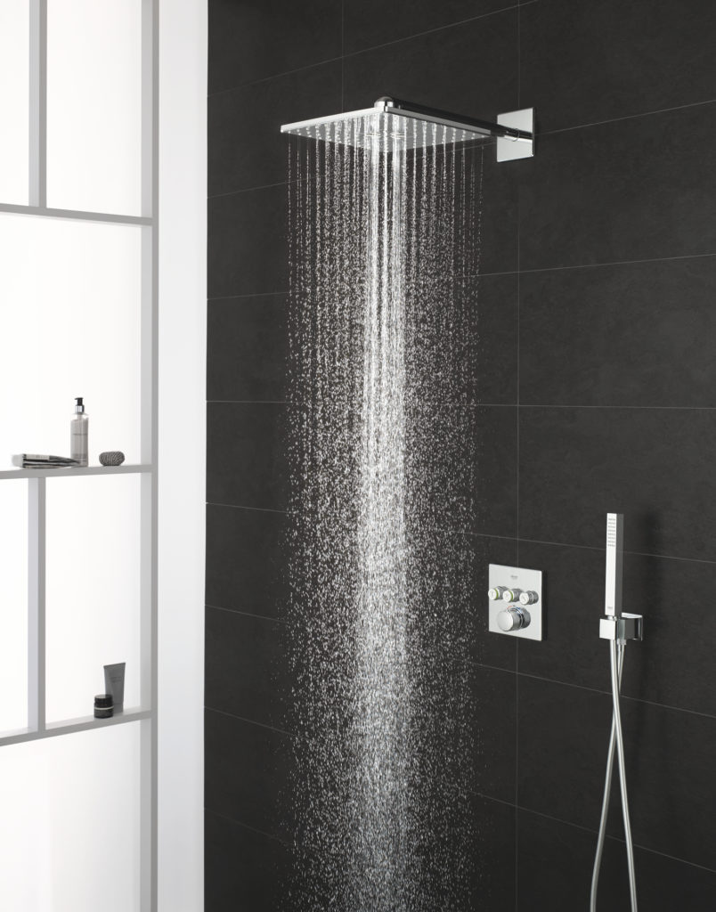 Rain shower smart active square.Grohe