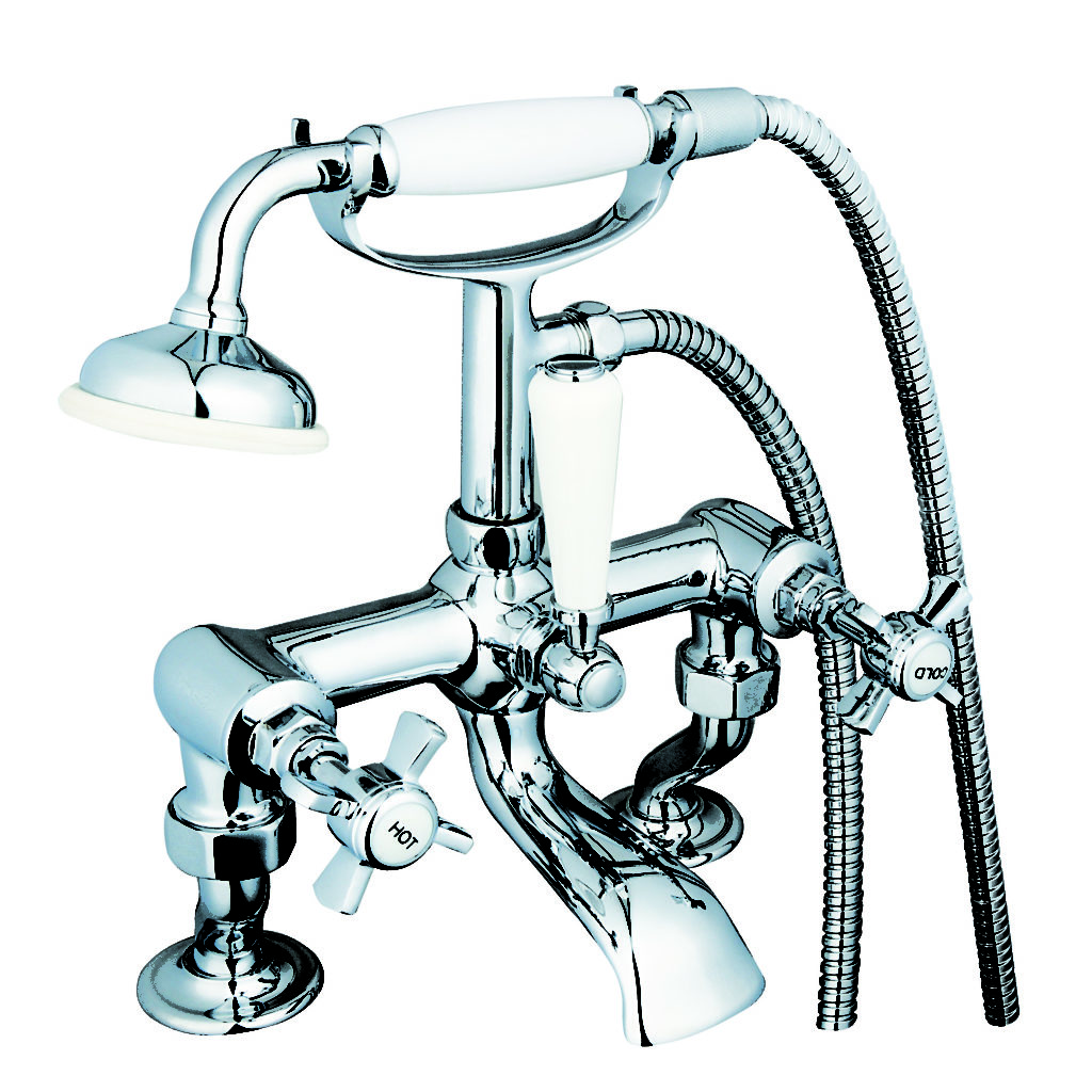 UTRD009 - Traditional Bath Shower Mixer Cranked