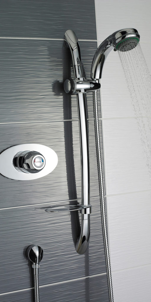 UVSQ3 - Sequential Thermostatic Shower Valve Concealed LS.RT Large