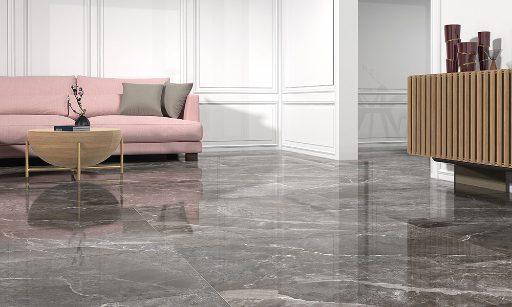 EARTHSTONE 60X120CM GLOSSY RECTIFIED PORCELAIN