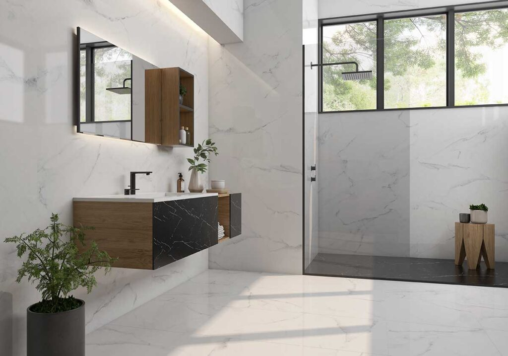 CALACATTA 75×75, 60×120 & 60x60cm Rectified Polished Porcelain