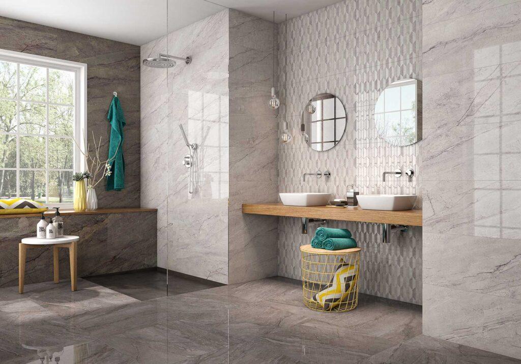 MILOS 30x90cm Recommended Floor Tile  MILOS 60x60cm Recommended Floor Tile