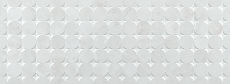BIBURY MOSAIC WHITE BR 33X90